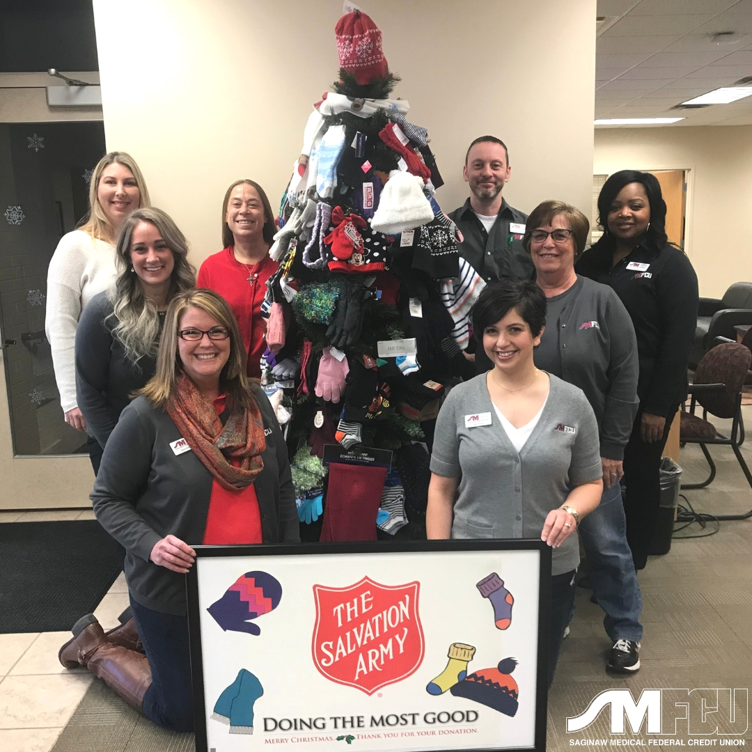 HACU Collects for Salvation Army