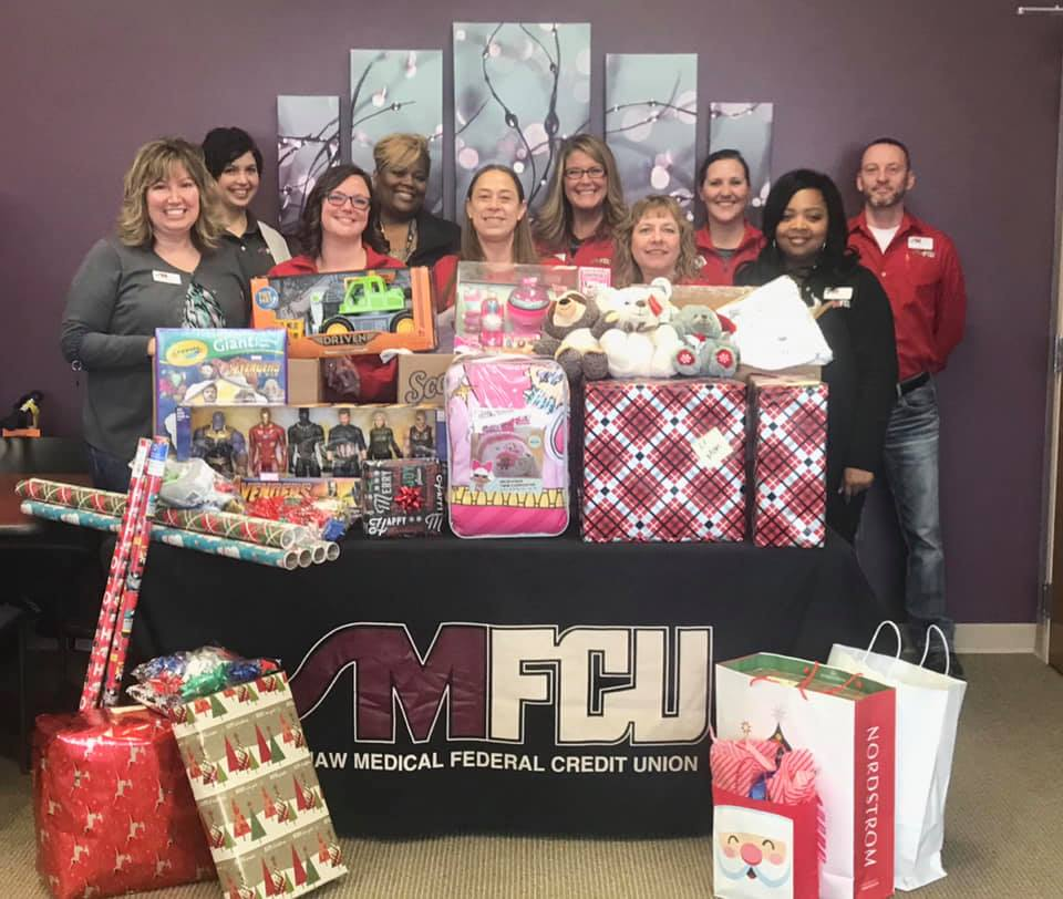 HACU Collects for Adopt a Family
