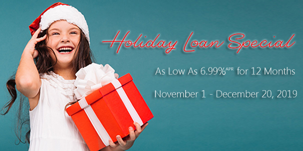 Holiday Loan Special graphic